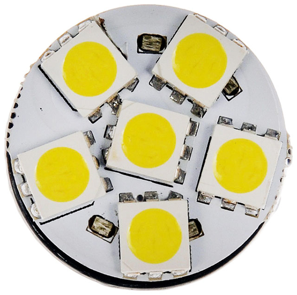 Grote Industries - 94831-4 – Replacement LED Bulb, White, Wedge Base, 4.8W