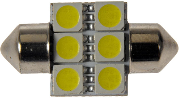 Grote Industries - 94871-5 – Replacement LED Bulb, White, Festoon Base, 1.44W