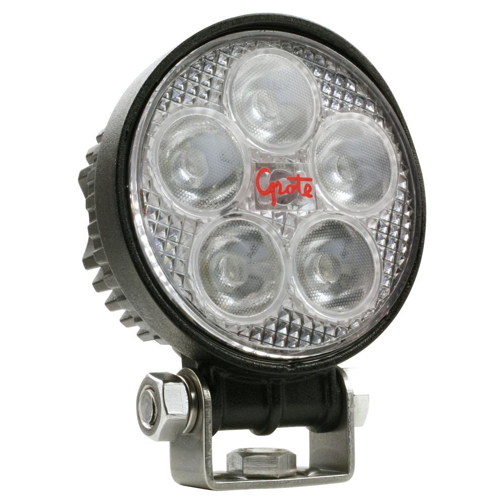 BZ111-5 – BriteZone™ LED Work Light, 1240 Raw Lumens, Small Round, Flood