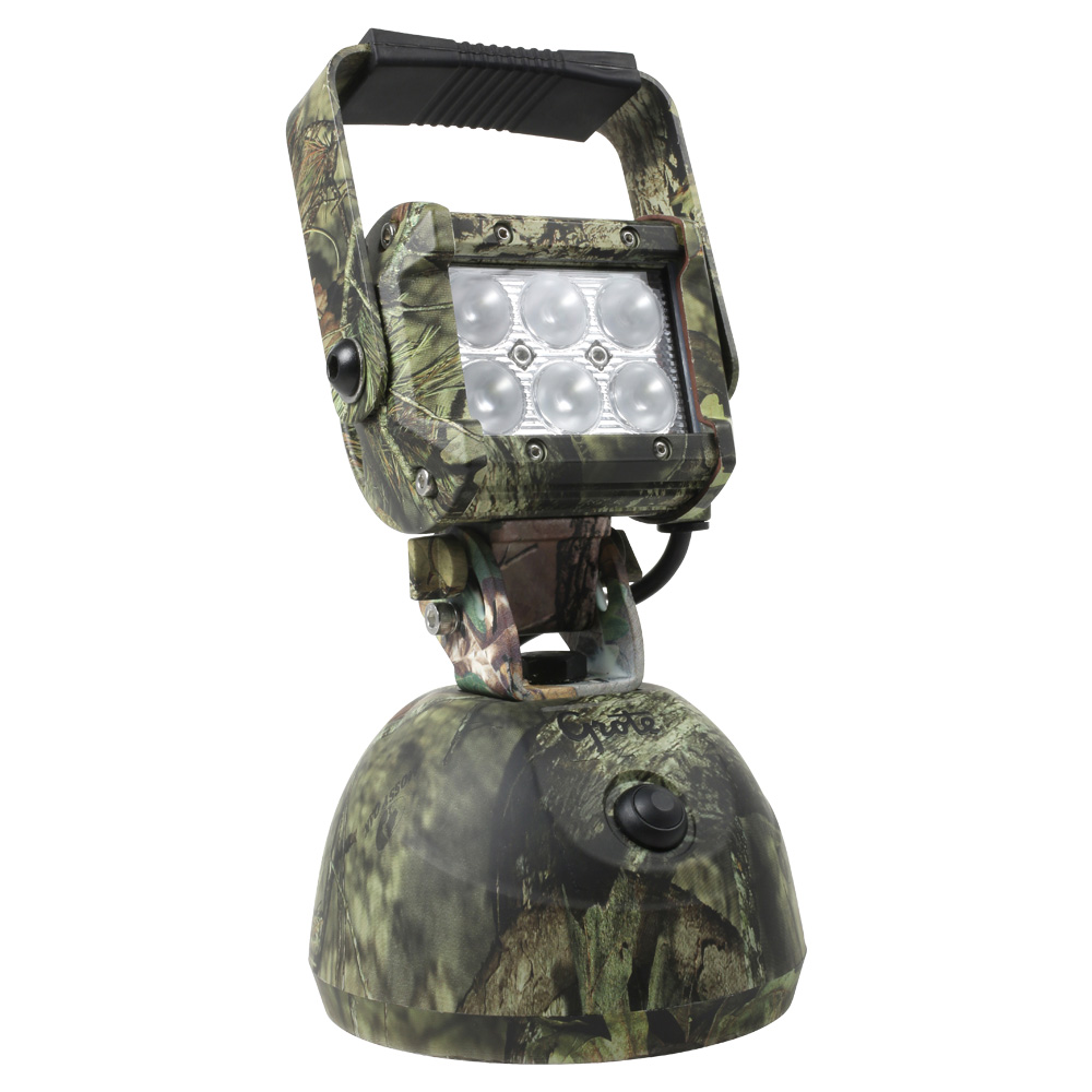BZ511-5 – BriteZone™ LED Work Light, 1100 Raw Lumens, Go Anywhere Hand Held, Mossy Oak Camo