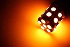 Focos LED, ámbar