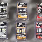 Replacement LED Bulbs in retail package