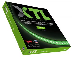 L14510804 – XTL LED Light Strip, Green, 17.00 in | 432 mm