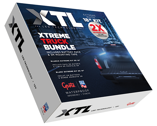 61K61 – XTL LED Technology, Task Light Kit, Extreme Truck Bundle Kit
