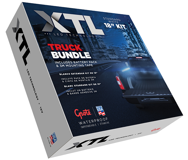 61K71 – XTL LED Technology, Task Light Kit, Standard Truck Bundle Kit
