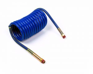 81-0020-BC – Low Temperature Coiled Air, Working Length 20′, Leads 12″, 1pk, Blue
