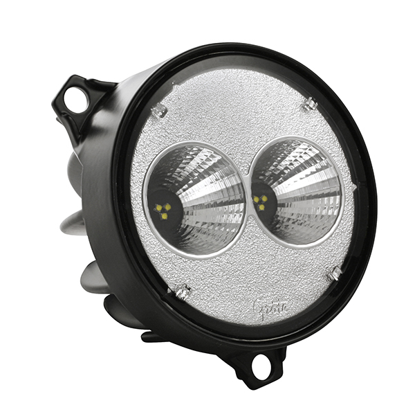 Grote Industries - 64F61- Trilliant 26 Flush Mount LED Work Light, 1000 Lumens, Far Flood