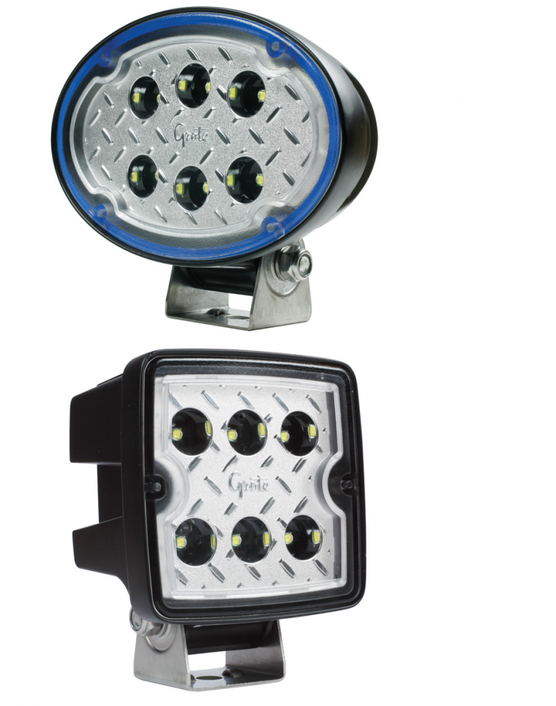 Updated Trilliant Oval and Cube LED Work Lights