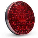 Round LED Stop Tail Turn Light