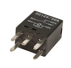 84-1077 – 5 Pin Relay, Mini Blade, 30 AMP