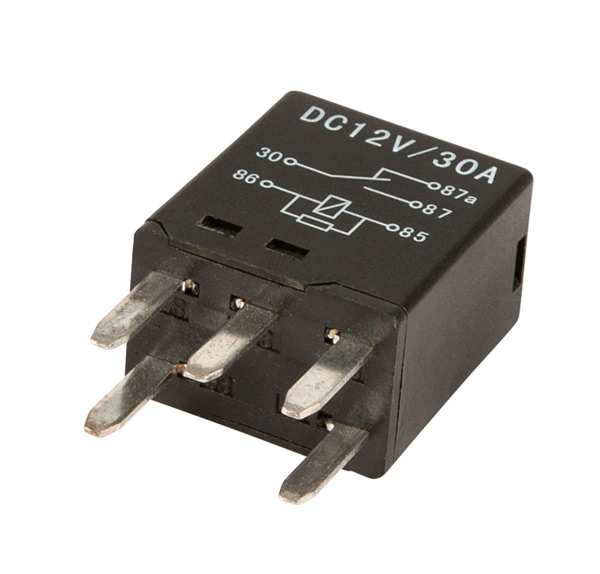 Grote Industries - 84-1077 – 5 Pin Relay, Mini Blade, 30 AMP