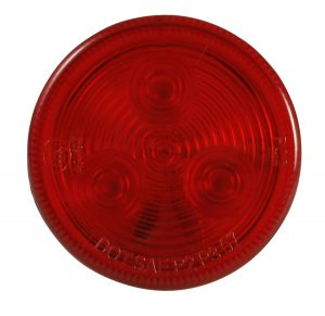 MKR4500R-PG – Choice Line Signal Lighting, 3-Diode, 2″ Round LED Clearance Marker Light, Red