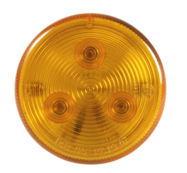 MKR4600Y-PG – Choice Line Signal Lighting, 3-Diode, 2 1/2″ Round LED Marker Light, Yellow