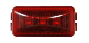 MKR4700R-PG – Choice Line Signal Lighting, Sealed Rectangular LED Clearance Marker Light, Red