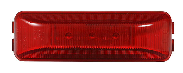 MKR4710R-PG – Choice Line Signal Lighting, 3-Diode, Sealed Rectangular LED Clearance Marker Light, Red