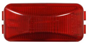 MKR4720R-PG – Choice Line Signal Lighting, Sealed Rectangular Clearance Marker Light, Incandescent, Red