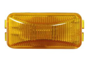 MKR4720Y-PG – Choice Line Signal Lighting, Sealed Rectangular Clearance Marker Light, Incandescent, Yellow