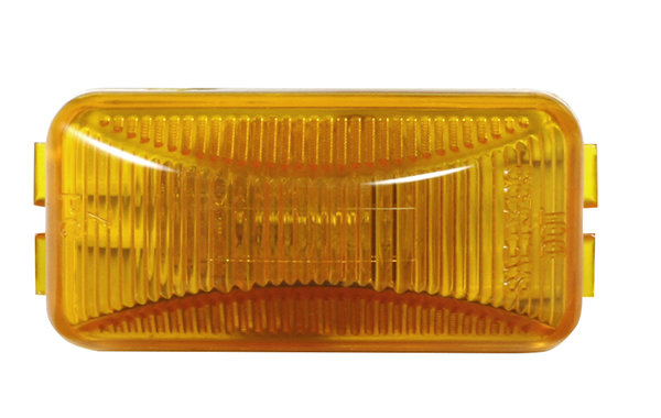 Grote Industries - MKR4720Y-PG – Choice Line Signal Lighting, Sealed Rectangular Clearance Marker Light, Incandescent, Yellow