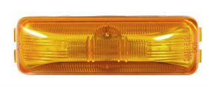 MKR4730Y-PG – Choice Line Signal Lighting, Sealed Rectangular Clearance Marker Light, Incandescent, Yellow
