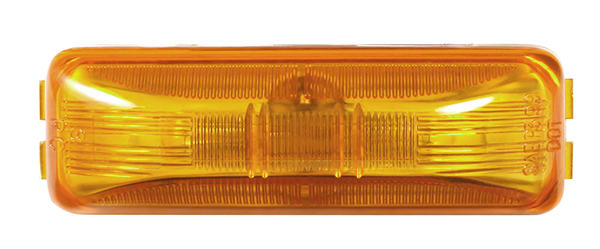 Grote Industries - MKR4730Y-PG – Choice Line Signal Lighting, Sealed Rectangular Clearance Marker Light, Incandescent, Yellow
