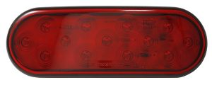 STT5000R-PG – Choice Line Signal Lighting, 6″ Oval LED Stop Tail Turn Light, Red