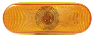 TUR5010Y-PG – Choice Line Signal Lighting, 6″ Oval Rear Turn Light, Incandescent, Yellow