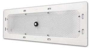 61N11 – LED WhiteLight™ Recessed Mount 18″ Dome Light, Motion Sensor, 6 Diodes, 940 Lumens, White, Bi-Volt