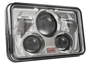 94401-5 – 4×6 Combo LED Headlight, Sealed Beam, High/Low Beam