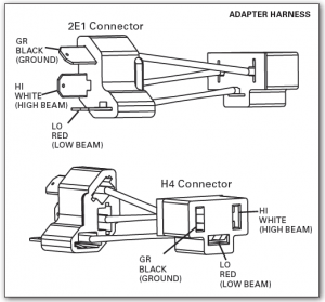 adapter harness drawing