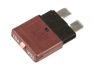 82-2355 – Standard Blade Circuit Breaker, Red, 10 Amp