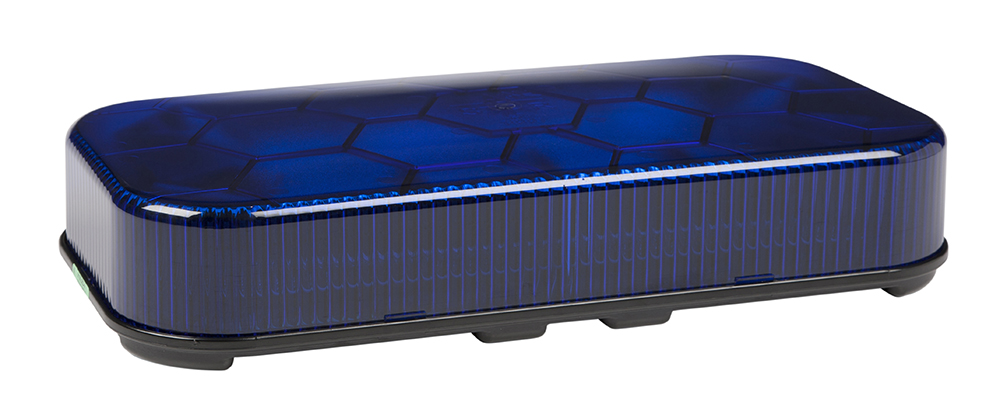 78025 – LED Mini Light Bar, Class I, Permanent Mount, Blue
