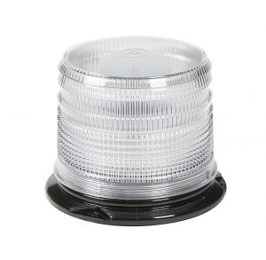 78031 – LED Beacon, Class I, Permanent Mount, S-Link Compatible, Short Lens, White
