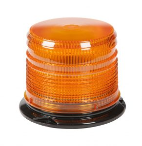 78033 – LED Beacon, Class I, Permanent Mount, S-Link Compatible, Short Lens, Amber