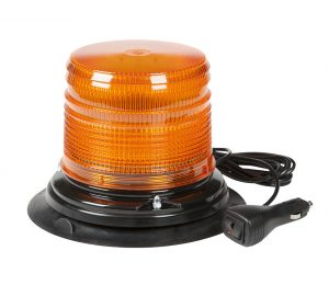 78043 – LED Beacon, Class I, Vacuum Mount, S-Link Compatible, Short Lens, Amber