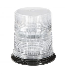 78051 – LED Beacon, Class I, Permanent Mount, S-Link Compatible, Tall Lens, White