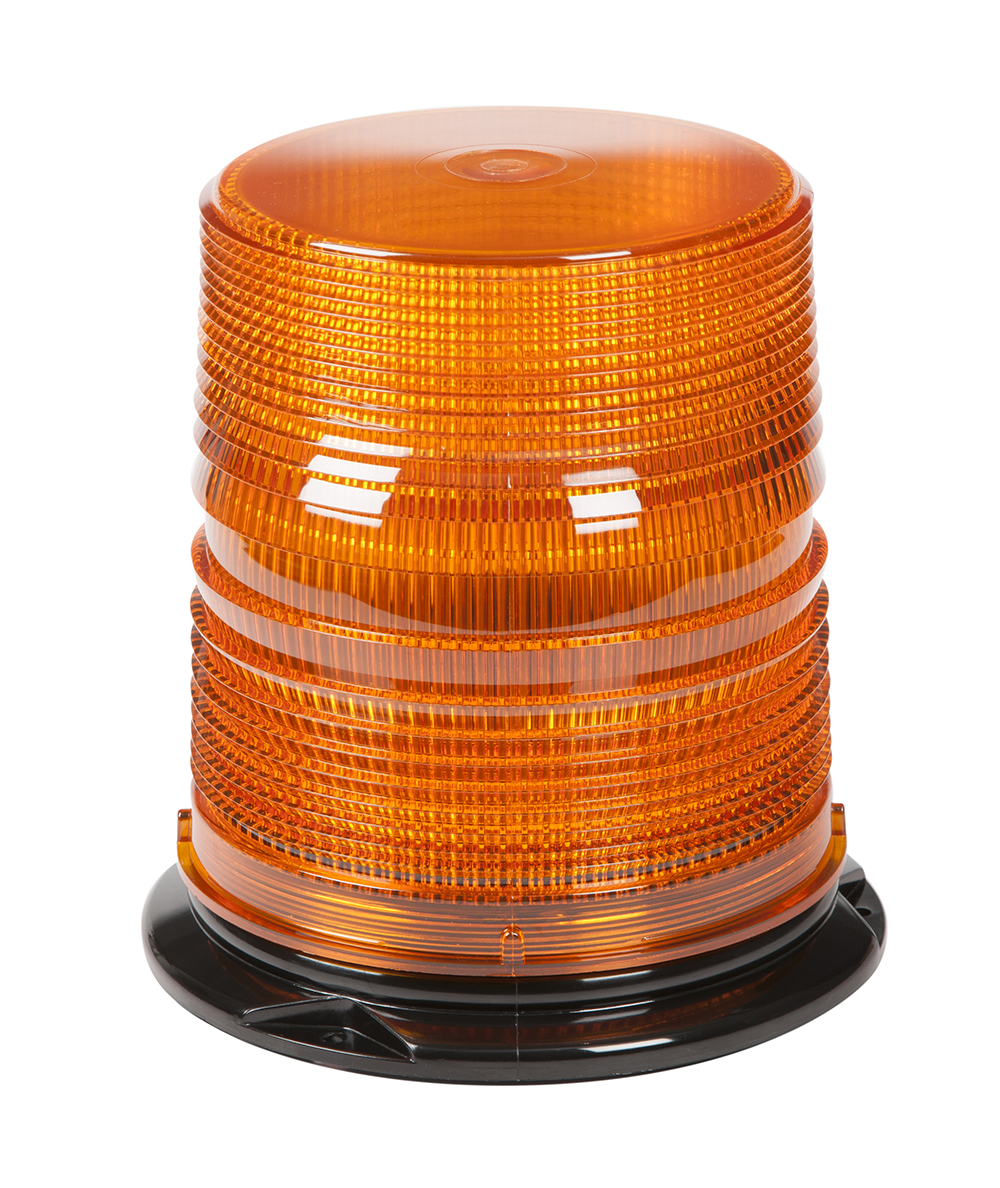 78053 – LED Beacon, Class I, Permanent Mount, S-Link Compatible, Tall Lens, Amber