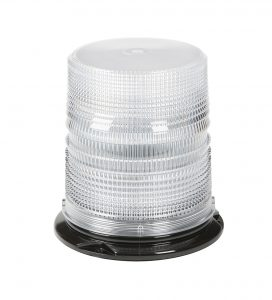78061 – LED Beacon, High Profile, Class II, Permanent Mount, Tall Lens, White