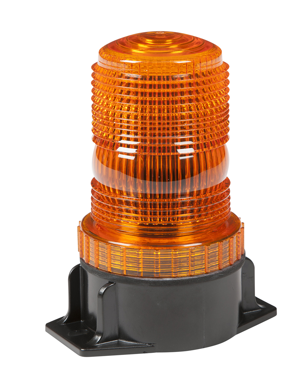 Grote Industries - 78113 – LED Material Handling Beacon, Class III, Permanent Mount, Tall Lens, Amber