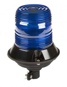 78125 – LED Beacon, Class II, DIN Mount, Blue