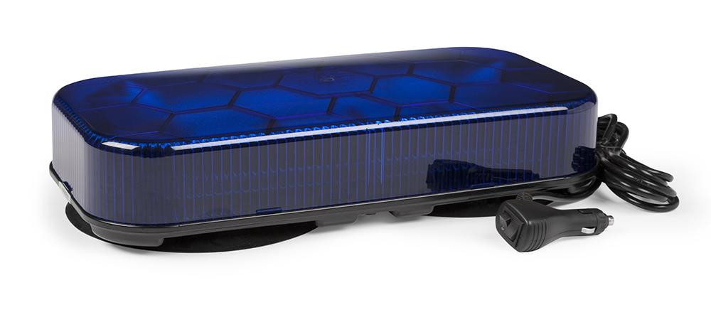 78135 – LED Mini Light Bar, Class I, Vacuum Mount, Blue