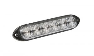 78143 – 6 Diode LED Directional Light, Class I, Surface Mount, Amber