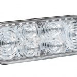 "6"" Oval LED Strobe Lights with S-Link Synchronization"
