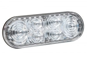 78191 – 6″ Oval LED Strobe Light, Class I, Grommet – Surface Mount, S-Link Compatible, White