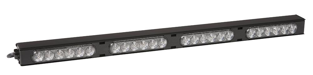 78370 – 20″ LED Traffic Warning Stick, 4 Module, Amber