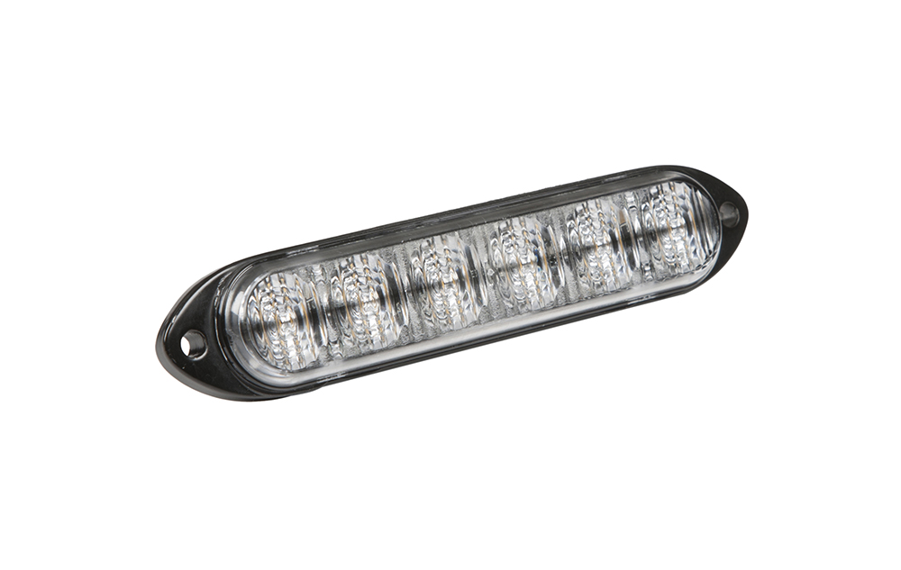 78460 – 6 Diode LED Directional Light, Class II, Surface Mount, Amber/White