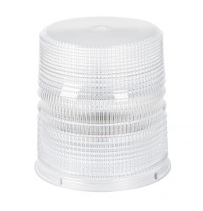 98171 – Warning & Hazard LED Beacon Replacement Lens, 6″, Tall, Clear