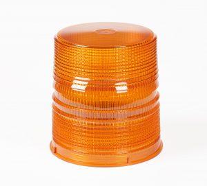 98173 – Warning & Hazard LED Beacon Replacement Lens, 6″, Tall, Amber