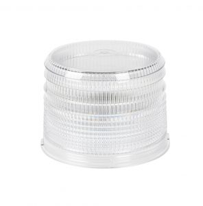 98221 – Warning & Hazard LED Beacon Replacement Lens, 4″, Short, Clear