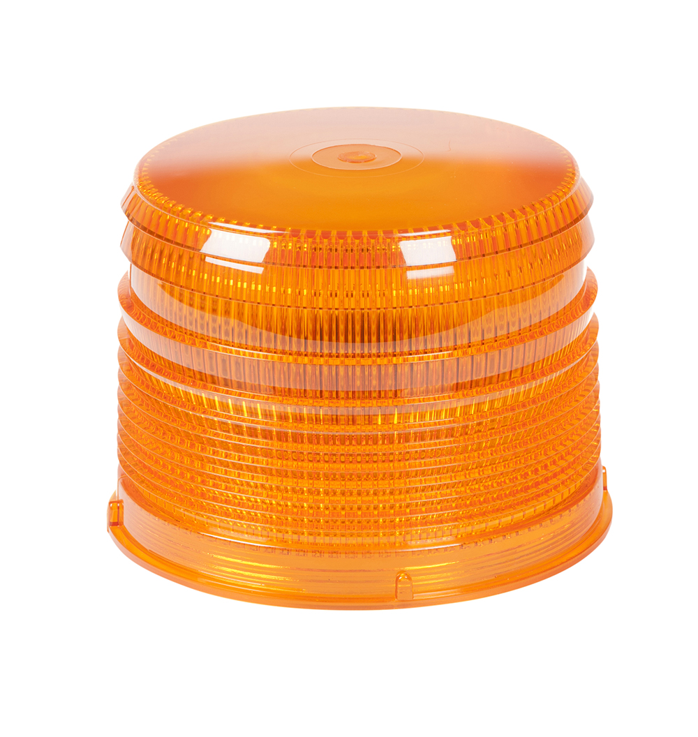 Grote Industries - 98223 – Warning & Hazard LED Beacon Replacement Lens, 4″, Short, Amber