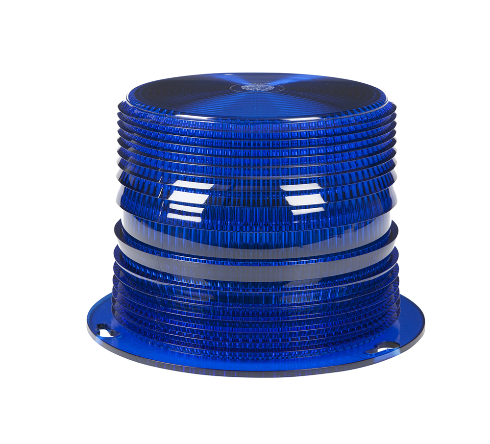 Grote Industries - 98255 – Warning & Hazard LED Beacon Internal Replacement Lens, Blue
